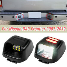 X2 License Number Plate Light Rear Bumper Led For Nissan Frontier D40 2007 2019