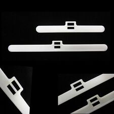 10 x 127mm VERTICAL BLIND TOP HANGER BLADE SLAT REPLACEMENT REPAIR FIX NEW PARTS