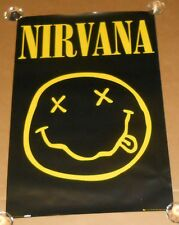 Nirvana Smiley Face 2010 Poster 24x36