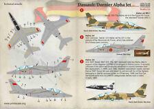SCALA di stampa 1/72 Dassault/Dornier Alpha Jet parte 1 # 72182