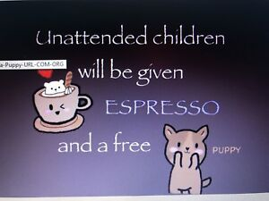 EspressoandaPuppy.com Premium domain HostGator Espresso and a Puppy URL COM ORG