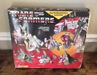G1 Transformers Vintage 1985 Superion Complete With Box Insert