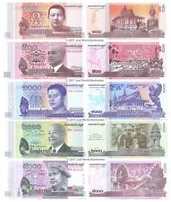 Cambodia 100 + 500 + 1000 + 2000 + 5000 Riels 2013-16 Set of 5 Banknotes UNC