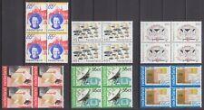 kavel blokjes van 4 zegels 1981 (1) postfris (MNH)