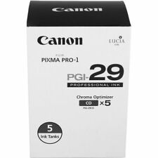 NEW! Canon PIXMA PRO-1 PGI-29 Chroma Optimizer Tank 5-Pack