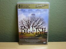 Big Fish (Dvd, 2004) Tim Burton Ewan McGregor Albert Finney Brand New Sealed