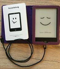 eBook-Reader tolino vision 1 mit Kurzanleitung