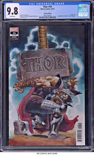 Thor #16 (#742) CGC 9.8 - Cates story, Incredible Hulk Annual #1 cover homage.