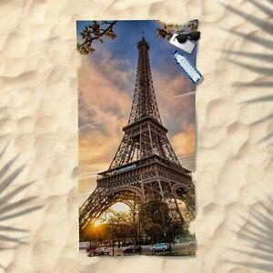 Eiffel Tower Beach Towel NEW Summer Bath Pool Gym La tour Eiffel Paris France #1