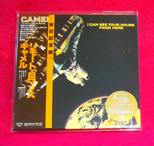 Camel I Can See Your House From Here SHM MINI LP CD JAPAN UICY-94139
