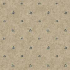 Country Keepsakes Pottery Geometric Spot Wallpaper York Wallcoverings YC3385
