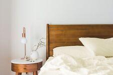 100% Bamboo Bed Linen Double Duvet Cover Set - Cover, Flat Sheet & Pillowcases.