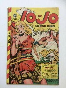 Jo-Jo Comics #17, UNRESTORED, very nice, bondage