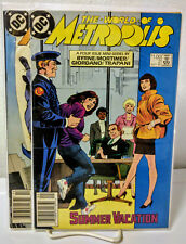 The World Of Metropolis, Issues 2 and 3, 1988, Dc Comics, Vg+/Nm/Umread