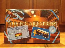 New The Polar Express BRIO~Wooden Railway~Hot Chocolate Musical Train Car 2 Piec