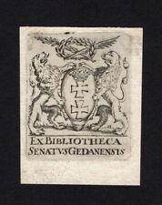 09)Nr.156- EXLIBRIS-Heraldik / heraldry, Künstler unbekannt , um 1800