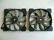 2x Corsair Lüfter/Fan 140mm 4 Pin 12VDC 0.7A NEU