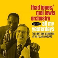 THAD JONES - MEL LEWIS ORCHESTRA-ALL MY YESTERDAYS-JAPAN 2 CD H75