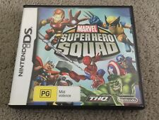 Marvel Super Hero Squad Ds Australian Pal Copy Complete With Manual