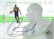 2001-02 SP Authentic #126 Gilbert Arenas Rookie Autograph /1525
