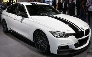 "BMW 8"" Offset Rally stripes Stripe Graphics Fit All Model 328i 318 335i 125i 330"