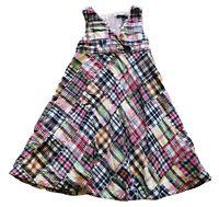 GAP Kids Girl Madras Multicolor Plaid Patchwork Dress I Size Small 6 / 7