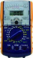 KT7310 portable digital analog dual display multimeter 9 functions in 24 ranges