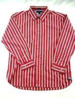 Tommy Hilfiger men's long sleeve shirt XL 17 1/2 - 18 neck 100% cotton