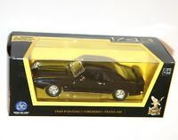Road Signature - PONTIAC FIREBIRD TRANS AM (1969) Black - Model Scale 1:43