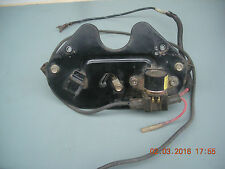 85 SUZUKI LT250EF ELECTRIC PARTS COVER TAIL LIGHT MOUNTING BRACKET STARTER RELAY