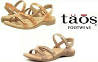 Taos Footwear Comfort adjustable leather walking Sandals Taos Shoes Happy