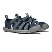 Keen Mens Clearwater CNX Walking Shoes Sandals - Blue Sports Outdoors Breathable