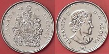 Brilliant Uncirculated 2014 Canada 50 Cents From Mint's Roll