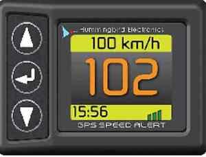 Low Cost GPS Speedo with Speed Alert,compass &clock HMSA3000