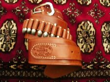 "SALE! El Paso Saddlery Cowboy #2 ""TEXAS BELT""-2 1/2″ wide-24 .45 Loops-Size 44"