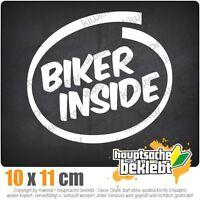 Biker inside - Motorrad csf0712  JDM  Sticker Aufkleber