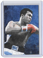 ACEO Brush Art Muhammad Ali Limited Edition Card 32 of 50