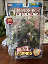 Marvel Legends The Incredible Hulk 2002 Series 1 Toybiz