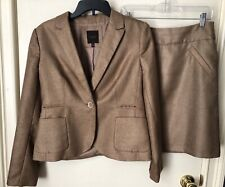 The Limited Tan Skirt Suit, Size M