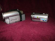 Pair of Sony Camcorders  DCR-SX85 (16 GB)  and Sony DVD92