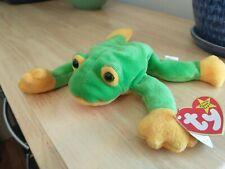 """Smoochy"" Frog 1997 Beanie Baby"