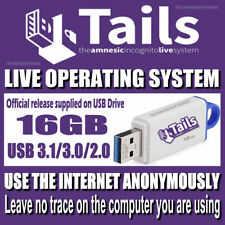 TAILS - 202O Edition Privacy Online Anonymous Internet Browsing  any PC 16GB USB