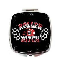 Roller Derby Compatto Specchio, Rullo stronzetta Compatto Specchio, Roller Derby Regalo