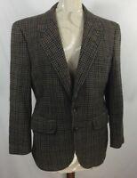 Vintage Neiman Marcus womens multicolored blazer jacket no size tag