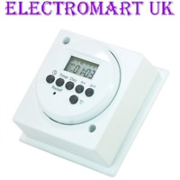 24 HOUR DISPLAY DIGITAL IMMERSION HEATER TIMER TIME SWITCH 16A 4000W
