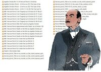 Hercule Poirot 38 Old Time Radio Shows Agatha Christie audio MP3 DOWNLOAD NO CD