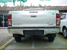 Toyota HILUX Vigo (04-14) Chrome Rear Bumper Nudge Step Bar w/ brackets