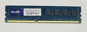 8GB DDR3 Desktop RAM 1600MHz PC3L 12800U DIMM Memoz 5 Years Warranty 240 PIN