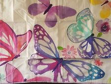 NEW POTTERY BARN TEEN BUTTERFLY KISSES BUTTERFLIES  STANDARD PILLOW SHAM