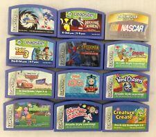 Lot of 12 LeapFrog Leapster Game Cartridges